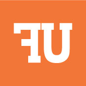 UF Logo with orange background
